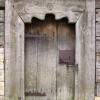 Drewniany portal - cerkiew w  Rudce/Szlak Architektury Drewnianej/Wooden Architecture Trail